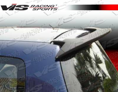 Spoilers - Custom Wing - VIS Racing - Honda Fit VIS Racing Fuzion Roof Spoiler - 07HDFIT4DFUZ-023