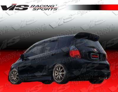 Spoilers - Custom Wing - VIS Racing - Honda Fit VIS Racing Type S Roof Spoiler - 07HDFIT4DSPN-023
