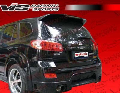 Spoilers - Custom Wing - VIS Racing - Hyundai Santa Fe VIS Racing Outcast Roof Spoiler - 07HYSAN4DOC-023