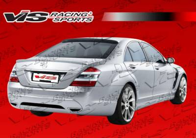 Spoilers - Custom Wing - VIS Racing - Mercedes-Benz S Class VIS Racing Laser Roof Spoiler - 07MEW2214DLS-023