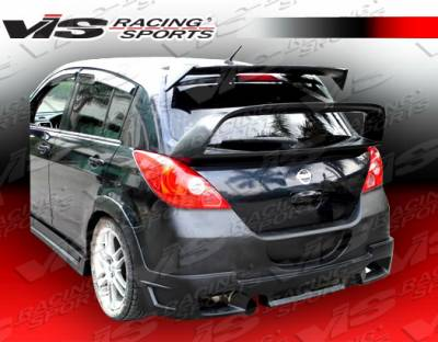 Spoilers - Custom Wing - VIS Racing - Nissan Versa VIS Racing Rally Roof Spoiler - 07NSVERHBRAL-023