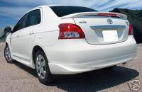 Spoilers - Custom Wing - VIS Racing - Toyota Yaris VIS Racing Factory Style Spoiler - 07TYYAR4DOE-003