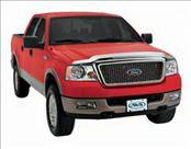 Accessories - Hood Protectors - AVS - Ford Ranger AVS Hood Shield - Chrome - 680321