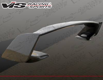 Spoilers - Custom Wing - VIS Racing - Subaru WRX VIS Racing STI Carbon Fiber Spoiler - 08SBWRX4DSTI-003C