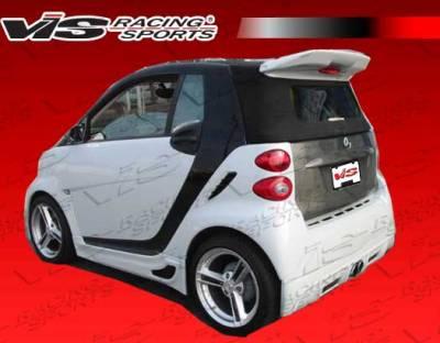 Spoilers - Custom Wing - VIS Racing - Smart ForTwo VIS Racing Viper Style Roof Spoiler - 08SMFR22DVR-023