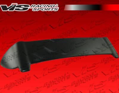 Spoilers - Custom Wing - VIS Racing - Suzuki SX4 VIS Racing Fuzion Rear Roof Spoiler - 08SZSX4DFUZ-023