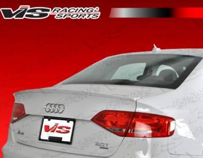 Spoilers - Custom Wing - VIS Racing - Audi A4 VIS Racing R Tech Spoiler - 09AUA44DRTH-003P