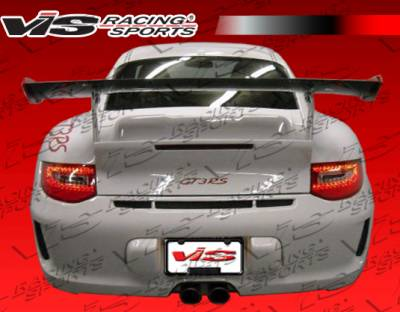 Spoilers - Custom Wing - VIS Racing - Porsche 911 VIS Racing 09 Style D3 Rs Spoiler with Engine Lid Converter - 09PS9972DD3RS-003