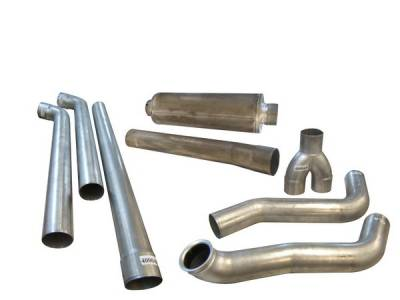 Exhaust - Custom Fit Exhaust - Bully Dog - Ford Excursion Bully Dog Dual Exhaust System - 181222