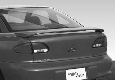 Spoilers - Custom Wing - VIS Racing - Chevrolet Cavalier VIS Racing Custom 2 Leg Wing with Light - 491051-2L