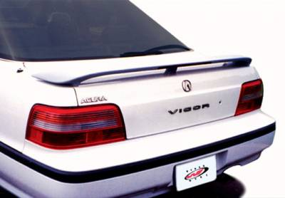 Spoilers - Custom Wing - VIS Racing - Acura Legend 4DR VIS Racing 3 Leg Wing with Light - 491056L
