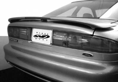 Spoilers - Custom Wing - VIS Racing - Ford Probe VIS Racing Low Profile Wing with Light - 491056LP