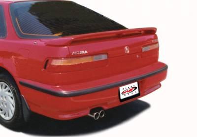 Spoilers - Custom Wing - VIS Racing - Acura Integra VIS Racing 3 Leg Factory Style Wing with Light - 49133L