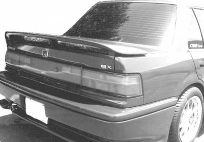 Spoilers - Custom Wing - VIS Racing - Honda Civic 4DR VIS Racing Accord Style Wing with Light - 49171LL
