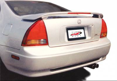 Spoilers - Custom Wing - VIS Racing - Honda Prelude VIS Racing Factory Style Wing with Light - 591015L