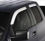 Accessories - Wind Deflectors - AVS - Ford Superduty AVS Ventvisor Deflector - Chrome - 2PC - 682503