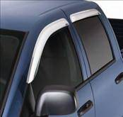 Accessories - Wind Deflectors - AVS - Ford F150 AVS Ventvisor Deflector - Chrome - 2PC - 682754
