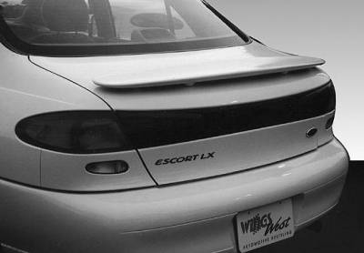 Spoilers - Custom Wing - VIS Racing - Mercury Tracer VIS Racing Factory Style Wing without Light - 591030-3