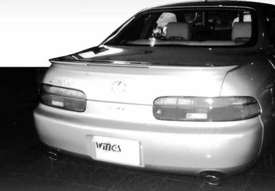 Spoilers - Custom Wing - VIS Racing - Lexus SC VIS Racing Wing with Light - 591033L