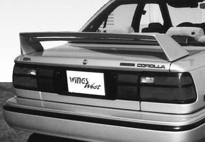 Spoilers - Custom Wing - VIS Racing - Volkswagen Jetta VIS Racing M3 Style Double Wing without Light - 591067-2