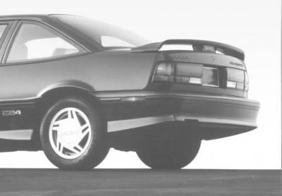 Spoilers - Custom Wing - VIS Racing - Chevrolet Cavalier VIS Racing Wing with Light - 591075L