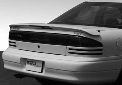 Spoilers - Custom Wing - VIS Racing - Dodge Intrepid VIS Racing Wing with Light - 3PC - 591087L