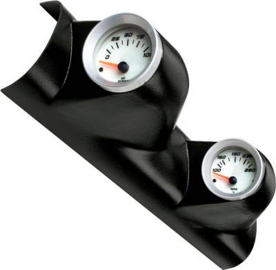 Car Interior - Gauges - Bully Dog - Ford F250 Bully Dog Two Gauge Mount - A-Pillar - Paintable - 315306
