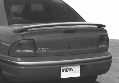 Spoilers - Custom Wing - VIS Racing - Dodge Neon VIS Racing California Style 2 Leg Wing with Light - 591108L