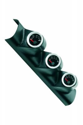 Car Interior - Gauges - Bully Dog - Ford F250 Bully Dog Triple Gauge Mount - A-Pillar - Full - Paintable - 317303