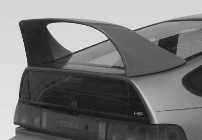 Spoilers - Custom Wing - VIS Racing - Honda CRX VIS Racing Super Style Wing with Light - 591127-V26L