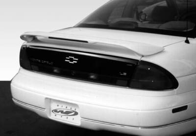 Spoilers - Custom Wing - VIS Racing - Chevrolet Monte Carlo VIS Racing Custom 2 Leg Wing with Light - 591133L