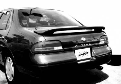 Spoilers - Custom Wing - VIS Racing - Nissan Altima VIS Racing 2 Leg Factory Style Wing with Light - 591136L