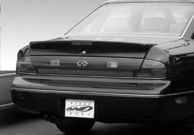 Spoilers - Custom Wing - VIS Racing - Infiniti Q45 VIS Racing Factory Style Wing with Rectangular Light - 591139L