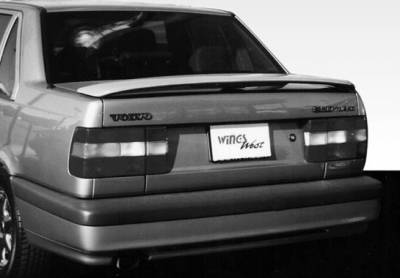 Spoilers - Custom Wing - VIS Racing - Volvo 940 VIS Racing Factory Style Wing with Light - 591141L