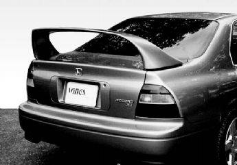 Spoilers - Custom Wing - VIS Racing - Honda Accord 2DR & 4DR VIS Racing Super Style Wing with Light - 591151-5V26L