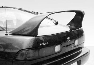 Spoilers - Custom Wing - VIS Racing - Acura Integra 2DR VIS Racing Super Style Wing with Light - 591151-V26L