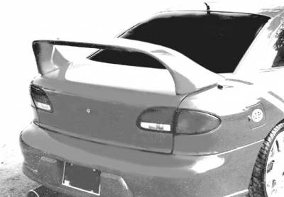 Spoilers - Custom Wing - VIS Racing - Chevrolet Cavalier VIS Racing Super Style Wing with Light - 591151-V26L-2