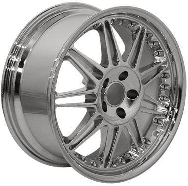 Wheels - Audi 4 Wheel Packages - Custom - 18 540 Chrome - 4 Wheel Set