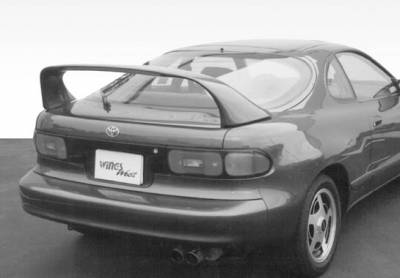 Spoilers - Custom Wing - VIS Racing - Toyota Celica VIS Racing Super Style Wing with Light - 591153-V26L-4