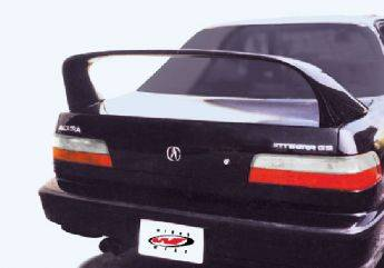Spoilers - Custom Wing - VIS Racing - Acura Integra 4DR VIS Racing Super Style Spoiler - 591156-4
