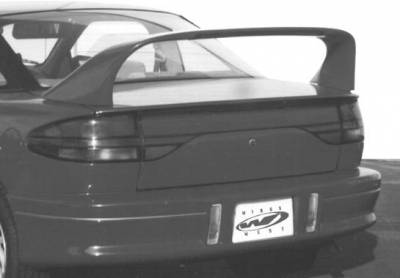 Spoilers - Custom Wing - VIS Racing - Saturn SC Coupe VIS Racing Super Style Wing with Light - 591156-V26L