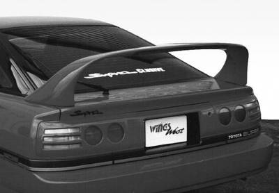 Spoilers - Custom Wing - VIS Racing - Toyota Supra VIS Racing Super Style Wing with Light - 591156-V26L-4