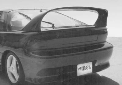 Spoilers - Custom Wing - VIS Racing - Geo Storm VIS Racing Super Style Wing without Light - 591160-1