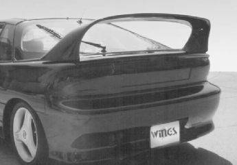 Spoilers - Custom Wing - VIS Racing - Ford Taurus VIS Racing Super Style Wing with Light - 591160-3V26L