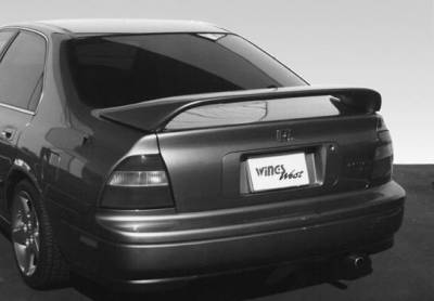 Spoilers - Custom Wing - VIS Racing - Honda Accord 2DR & 4DR VIS Racing Thruster Style Wing with Light - 591163LL