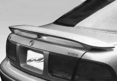 Spoilers - Custom Wing - VIS Racing - Mazda 626 VIS Racing Factory Style 3-Leg Wing with Light - 591180L
