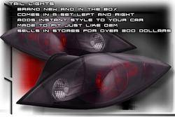 Headlights & Tail Lights - Tail Lights - Custom - Black Altezza Taillights Coupe