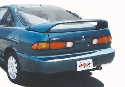 Spoilers - Custom Wing - VIS Racing - Acura Integra 2DR VIS Racing Thruster Wing with Light - 591182LL