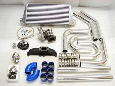 Performance Parts - Turbo Charger Kit - Custom - 2.4L 2.7L T3 CAST TURBO KIT
