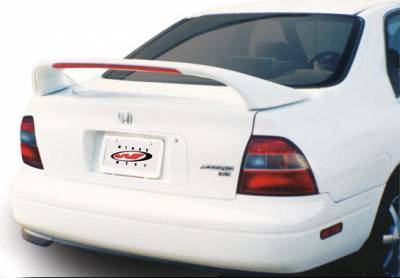 Spoilers - Custom Wing - VIS Racing - Honda Accord 2DR & 4DR VIS Racing Mid-Wing with Light -7 inch - 591185-V26L-2